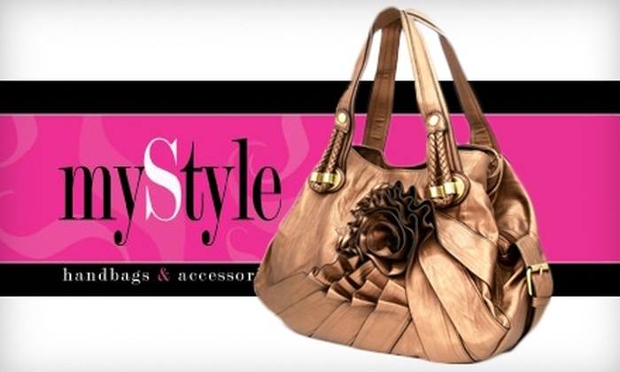 myStyle handbags & accessories - Paradise Hills Civic: $20 for $40 Worth of Handbags and More at myStyle Handbags & Accessories