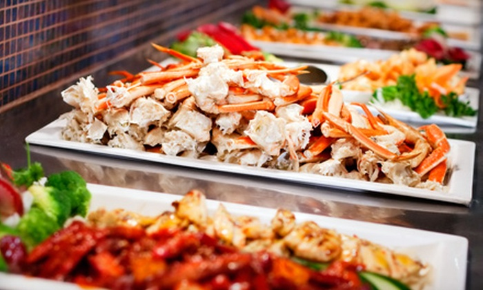 Sakura Garden West Hartford - West Hartford: $17 for $35 Worth of Upscale Japanese Sushi and Asian Buffet with Drinks at Sakura Garden West Hartford