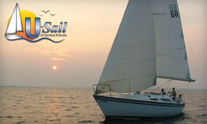U-Sail of Central Florida - Sanford: $50 for a Two-Hour Introductory Sailing Lesson for Two People from U-Sail of Central Florida in Sanford