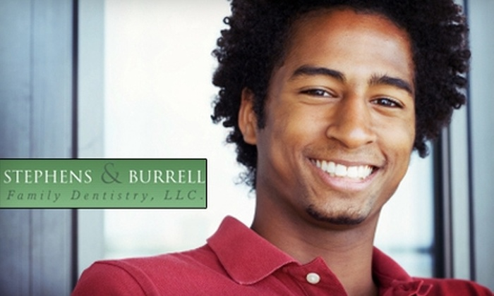 Stephens & Burrell Family Dentistry - Atlanta: $79 for a Dental Exam, Cleaning, and X-Rays (Up to $368 Value) or $189 for Zoom! Teeth Whitening at Stephens & Burrell Family Dentistry in Stone Mountain ($637 Value)