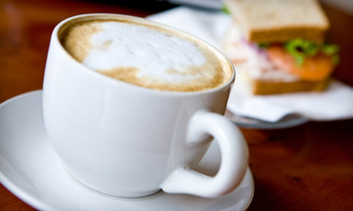Jammin Java - Multiple Locations: $5 for $10 Worth of Coffee and Café Fare at Jammin Java. Three Locations Available.