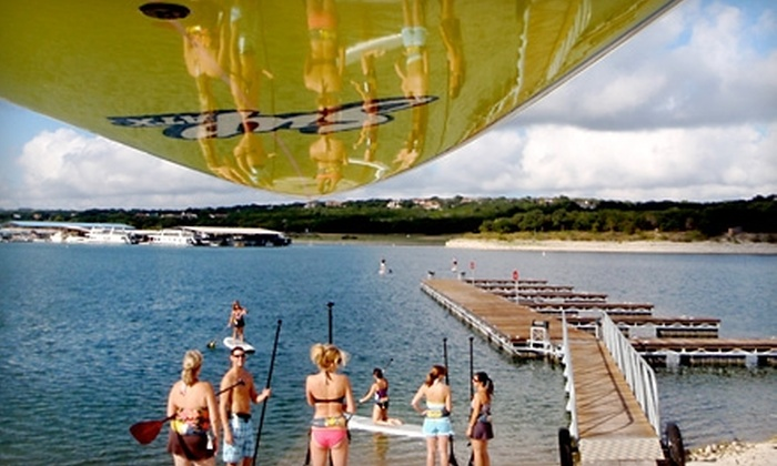SUP LT - Austin: $12 for a Two-Hour Standup Paddleboard Rental on Lake Travis from SUP LT ($25 Value)