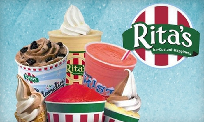 Rita's - Multiple Locations: $5 for $10 Worth of Frozen Treats at Rita's in Smyrna or Marietta