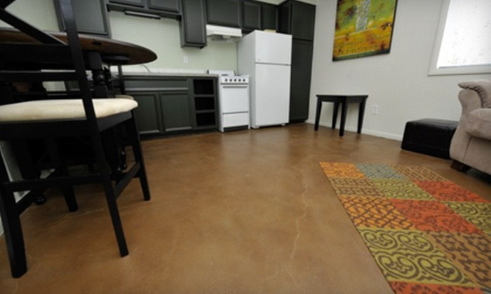 Concrete Artistry - Collister: Concrete Cleaning, Staining, and Repair from Concrete Artistry (Up to 80% Off). Two Options Available.