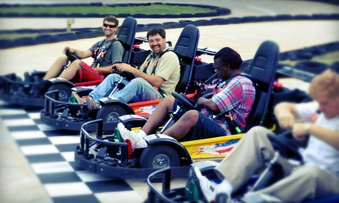 Hot Wheels Amusement Park - Rocky Mount: Park Attractions for One or Four at Hot Wheels Amusement Park in Rocky Mount (Up to 59% Off). Three Options Available.