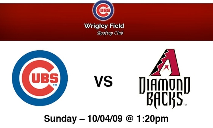 Wrigley Rooftop Baseball Club - Lakeview: Cubs Rooftop Tickets: All You Can Eat & Drink Included. Buy Here for Cubs vs Arizona on 10/4 at Wrigley Field Rooftop Club. More Games Below.