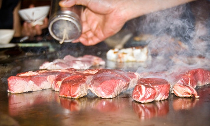 Iron Chef Japanese Steak House - Puyallup: $25 for $50 Worth of Teppanyaki Dinner Fare at Iron Chef Japanese Steak House in Puyallup
