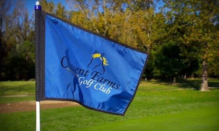 Crescent Farms Golf Club - Eureka: $39 for 18 Holes of Golf for Two, Cart Rental, and Two Buckets of Range Balls at Crescent Farms Golf Club (Up to $105 Value)