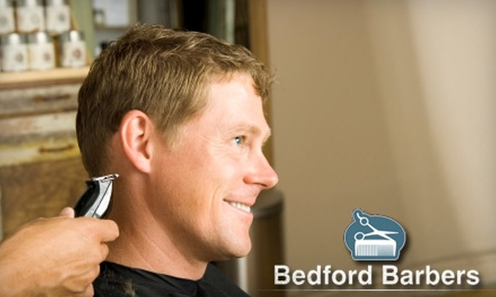 Half Off Haircut And Shave At Bedford Barbers Bedford Barbers