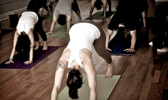 Imagine, A Yoga Studio - Rogers Park: $35 for One Month of Unlimited Classes at Imagine, A Yoga Studio (Up to $140 Value)