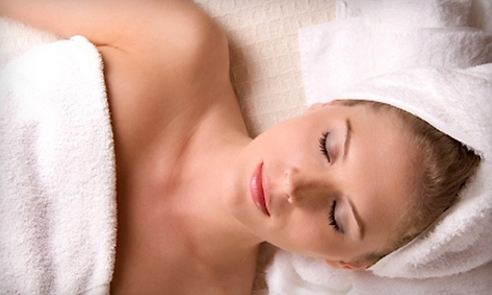 Charmed Salon and Spa - Miller Place: $55 for Swedish Massage and Express Mini Facial at Charmed Salon and Spa in Miller Place ($120 Value)