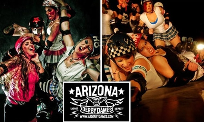 Arizona Derby Dames - Story: $6 for One General-Admission Stadium-Seat Ticket to the Arizona Derby Dames on March 20
