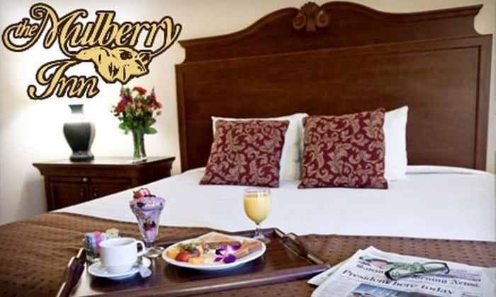 Mulberry Inn - Historic District - North: $75 for $150 Toward a Stay at the Mulberry Inn (Up to $150 Value)