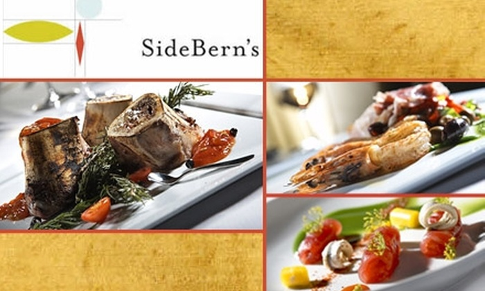 SideBern's - New Suburb Beautiful: $35 for $75 Worth of Mediterranean Cuisine at SideBern's