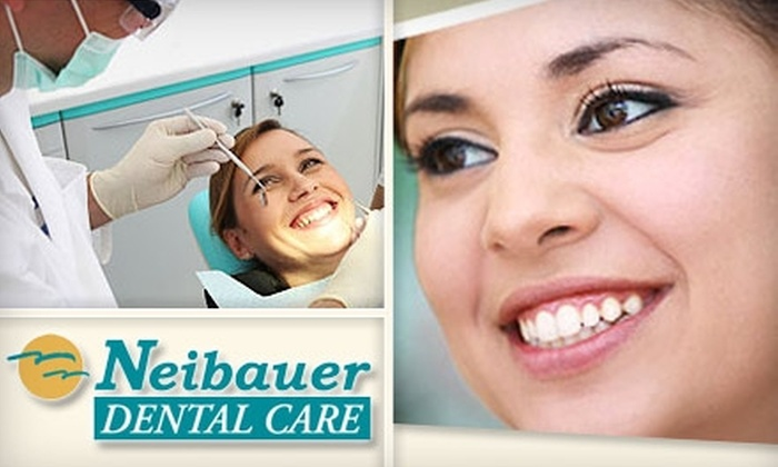 Neibauer Dental Care - Multiple Locations: $49 for a Dental Exam, X-rays, and Teeth Cleaning at Neibauer Dental Care ($350 Value)