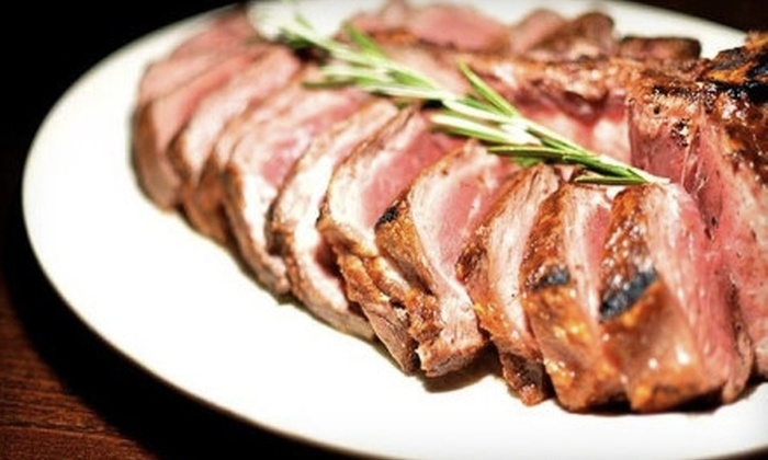 Hamilton & Ward Steakhouse - Downtown Paterson: $25 for $50 Worth of Steak, Seafood, and More at Hamilton & Ward Steakhouse in Paterson