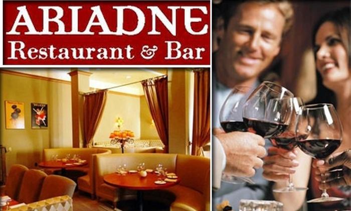 Ariadne Restaurant & Bar  - Newtonville: $20 for $40 Worth of Mediterranean Cuisine and Drinks at Ariadne Restaurant & Bar in Newtonville