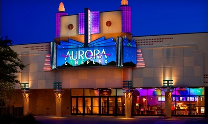 Aurora Cineplex - Roswell: $22 for Movie and Mini Golf Tickets for Two with Two Medium Popcorns and Drinks (Up to $50 Value) at Aurora Cineplex in Roswell