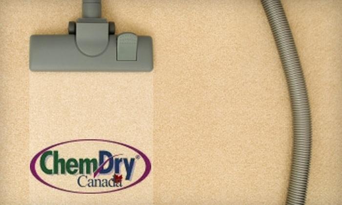 Chem-Dry of Saskatoon - Saskatoon: $75 for a Two-Room Carpet Cleaning from Chem-Dry of Saskatoon