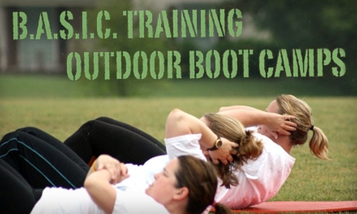 B.A.S.I.C. Training Health and Fitness - Fort Worth: $25 for One Month of Boot-Camp Sessions at B.A.S.I.C. Training Health and Fitness ($100 Value)