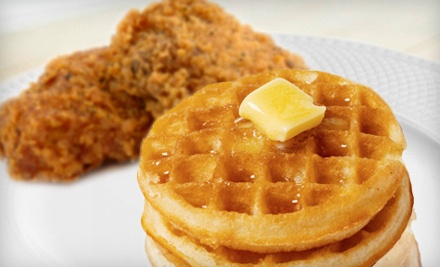 Chicken-and-Waffles Meal for 2 (a $27 total value) - Roscoe's Joint in Reno