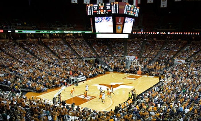University of Texas at Austin Women's Basketball: $8 for Two Tickets to University of Texas at Austin Women's Basketball at Frank Erwin Center ($24 Value). Two Games Available.
