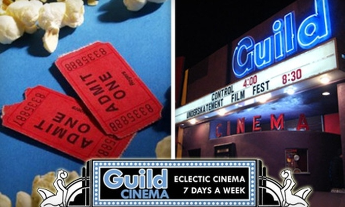 Guild Cinema - Nob Hill: $7 for Two Movie Tickets to Guild Cinema