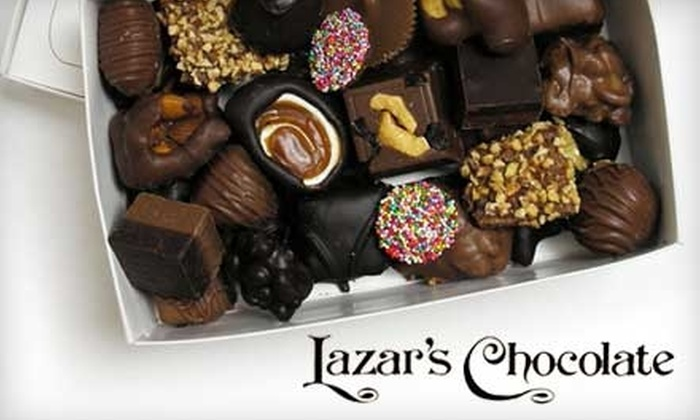 Lazar's Chocolate - Multiple Locations: $7 for $15 Worth of Sweet Treats at Lazar's Chocolate