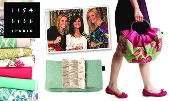 1154 Lill Studio - Chicago: $30 for $60 Worth of Custom Handbags and More at 1154 Lill Studio
