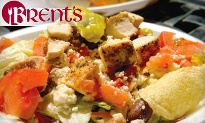 Brent's - Charleston: $5 for $10 Worth of Sandwiches, Salads, and More at Brent's