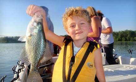 2.5-Hour Family Fishing Trip for Four  - Greggofish Guide Service in New Hill