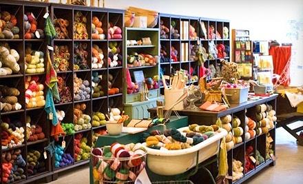 Cast Away Yarn Shop: 2 Two-Hour Beginning Knitting Classes - Cast Away Yarn Shop in Santa Rosa