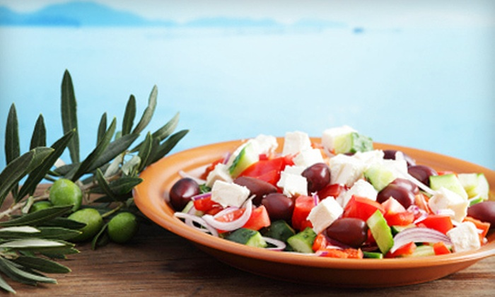 I'm Greek Today - Royal Palm Beach: Greek Fare at I'm Greek Today in Royal Palm Beach (Up to 53% Off). Two Options Available.