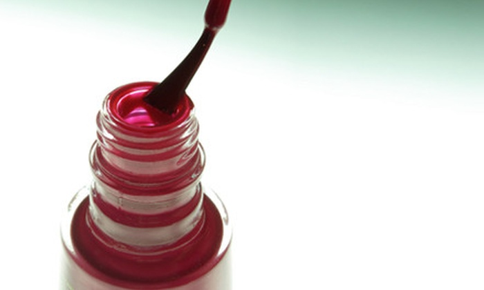 TrendZ Nail Design Studio  - North Raleigh: Classic, Spa, or Jelly Mani-Pedis at TrendZ Nail Design Studio (Up to 55% Off)