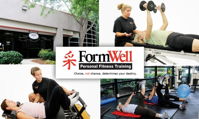FormWell Personal Training - Sandy Springs: $35 for Fitness Assessment and Four Personal Training Sessions at FormWell Personal Training