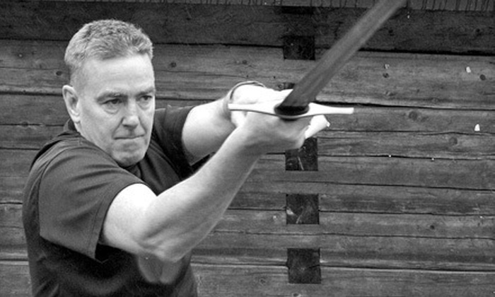 Blood & Iron Martial Arts - Downtown: Sword-Fighting Classes at Blood & Iron Martial Arts in New Westminster (Up to 61% Off). Three Options Available.