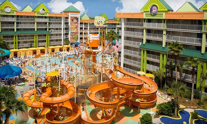 Nickelodeon Suites Resort - Orlando, FL: Two-Night Stay for Six in a Two-Bedroom Suite at the Nickelodeon Suites Resort in Orlando