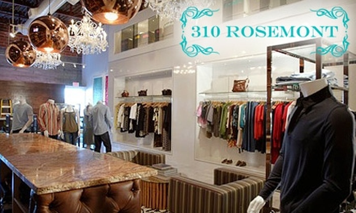 310 Rosemont - Neartown/ Montrose: $50 for $100 Worth of Clothing and Accessories at 310 Rosemont