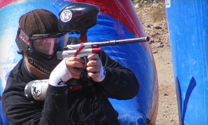 Disruptive Paintball - Marana: $20 for an All-Day Pass, CO2 or Air, 250 Paintballs, and Rental Equipment at Disruptive Paintball ($54 Value)