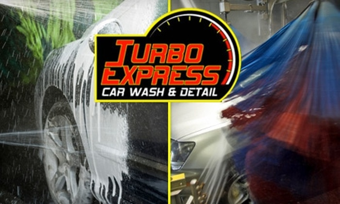 Turbo Express Car Wash & Detail - East Bench: $12 for $30 Worth of Fresh and Clean Services from Turbo Express Car Wash & Detail