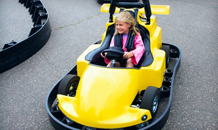 Checkered Flag Raceway - Berlin: $15 for $30 Worth of Go-Kart Racing at Checkered Flag Raceway in Berlin