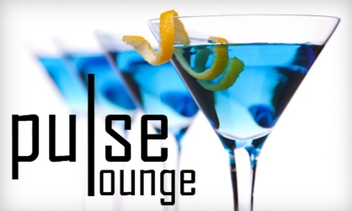 Pulse Lounge - Detroit:  $10 for $20 Worth of Cocktails at Pulse Lounge