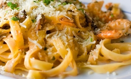 $60 Groupon to La Bistecca Italian Grille - La Bistecca Italian Grille in Plymouth