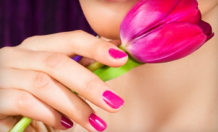 30-Minute Shellac Manicure (a $25 value) - Symmetry Salon & Day Spa in Tulsa