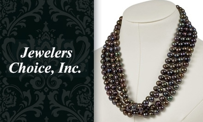 Jewelers' Choice - Memphis: $99 for a Black-Pearl Necklace or Choice of Other Jewelry at Jewelers' Choice ($390 Value)