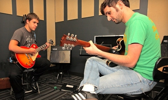 School of Rock - Multiple Locations: $40 for Four 30-Minute Private Introductory Lessons at School of Rock ($225 Value)