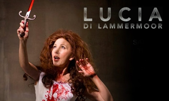 Pittsburgh Opera - Downtown: Tickets to Lucia di Lammermoor at Pittsburgh Opera (Up to $100.75). Choose From Two Dates and Three Seating Options.