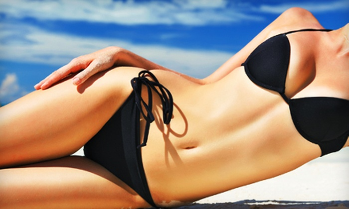 Planet Beach Contempo Spa - University Heights S.C.: $65 for Two Mystic Tanning Sessions and One Hydro-Derma Fusion Session at Planet Beach Contempo Spa ($135 Value)