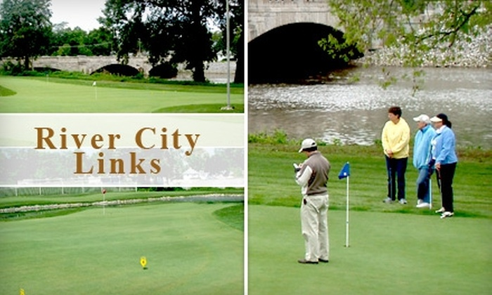 River City Links Golf Course - East Central: $4 for All-Day Play on the 18-Hole Putting Course at River City Links Golf Course (Up to $12 Value)