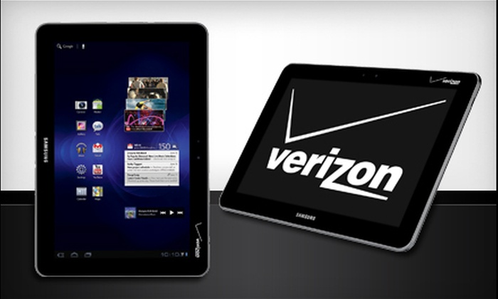 Samsung Galaxy Tab: Samsung Galaxy 16GB Tab with 10.1-Inch Screen from Verizon Wireless and Tranzmobile (Up to 44% Off). Shipping Included.